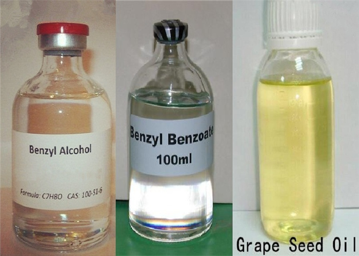 What is BB(Benzyl Benzoat), BA(Benzylalkohol), GSO?