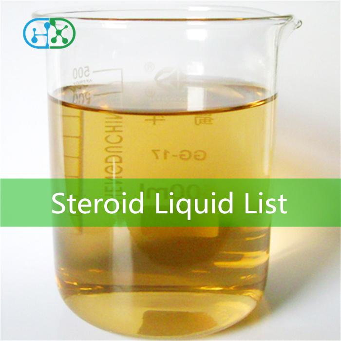 Premade Steroid Liquid List